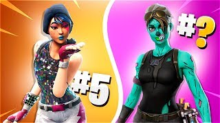 💸 RANKING OF THE BEST EPIC SKINS OF FORTNITE: BATTLE ROYALE! 💸 [Flopper]