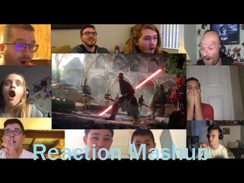 Star Wars Battlefront 2 Gameplay Trailer REACTION MASHUP