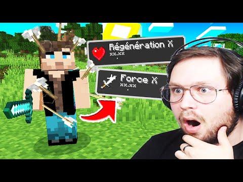 Minecraft, Mais plus on me tape, Plus je suis FORT !