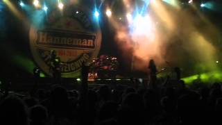 "Slayer ""South Of Heaven"" - live athens greece 1-7-2013"
