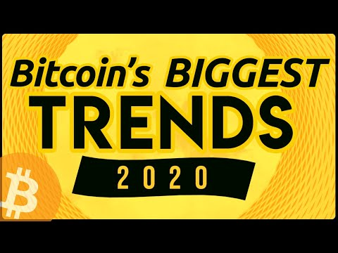 Bitcoin's 3 Biggest Trends In 2020 ☘️