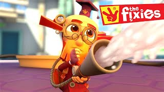 The Fixies ★ THE FIRE EXTINGUISHER | MORE Full Episodes ★ Fixies English | Cartoon For Kids