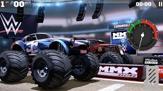 MMX Racing Android Gameplay #1 - WWE Rumble Monster Trucks
