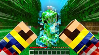 Minecraft, BUT I HAVE ANIME SUPER POWERS...