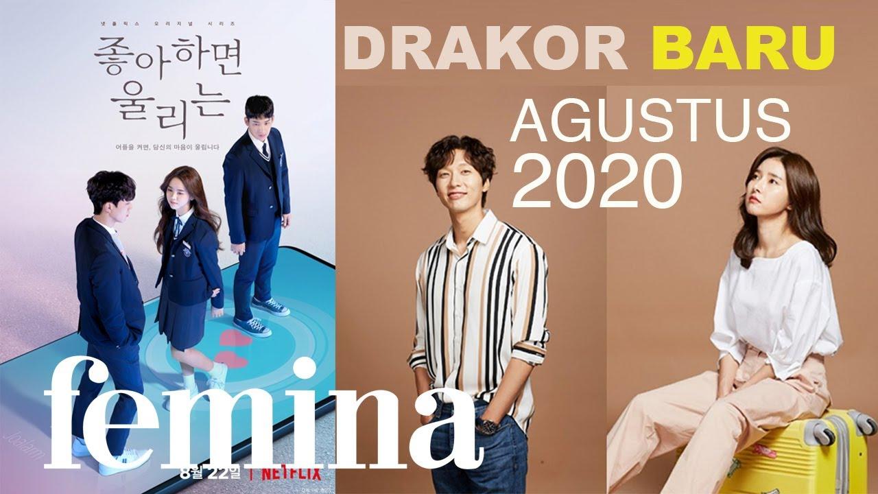 Suka DRAKOR? Nggak Cuma SIWON! Ini 9 DRAMA KOREA Terbaru di Agustus 2020!