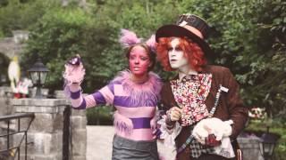 видео Свадьба в стиле «Алиса в стране чудес!»