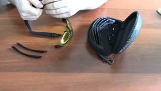 Смена дужек на лямке на очках www.a-optic.ru
