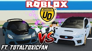 Ultimate Driving: Lotus Exige 360 VS WRX STI S209!! [LIMITED CARS BATTLE] ft. Totaltoxicfan (ROBLOX)
