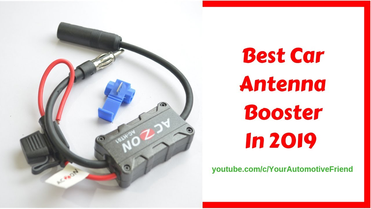 Best Car Antenna Booster 2018 Youtube