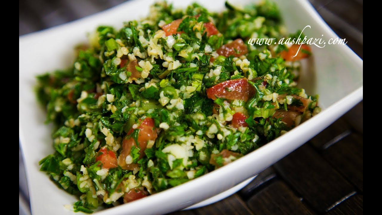 Tabbouleh recipe salad youtube forumfinder Choice Image