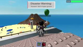 ROBLOX Disaster Survival! w/ The Friendly Cave Spi