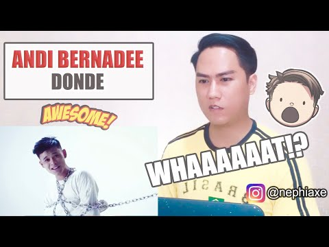 Free Download Andi Bernadee - Donde (official Music Video) | Singer Reacts Mp3 dan Mp4