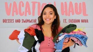 Vacation Clothing Try On Haul ft. Fashion Nova