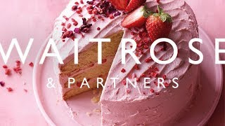Strawberry and Rose Layer Cake | Waitrose & Partners