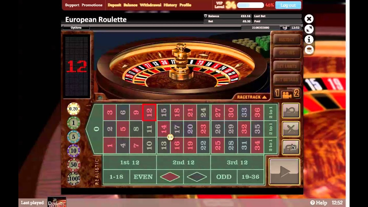 Online roulette big win