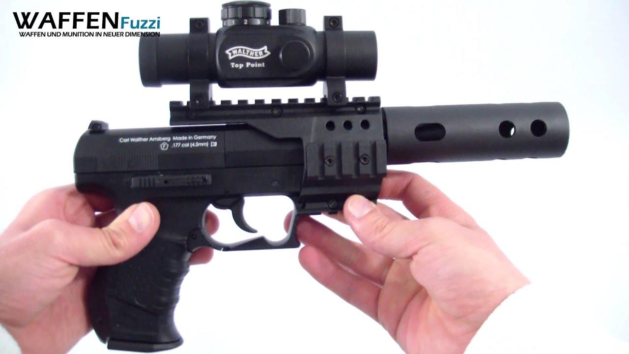Co² pistole walther nighthawk 4 5 mm diabolo co² waffen test www