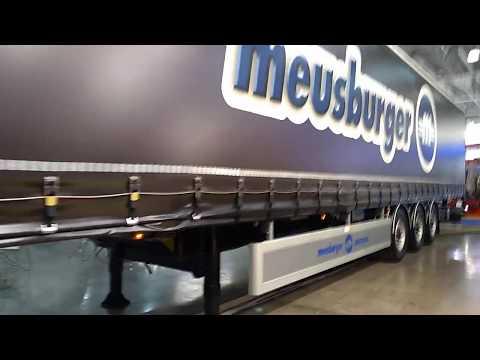 МаксКар Москва на КОМТРАНС 2019 и штора борт 16,5 м Новтрак Meusburger