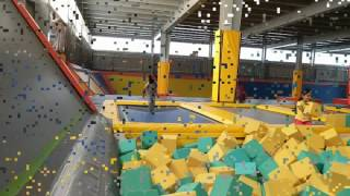 Play Factory Trampoline Bangalore an experience!