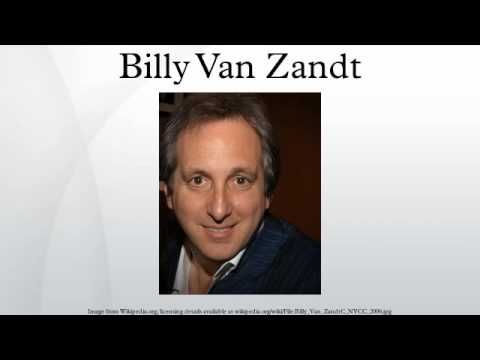 billy van zandt divorce