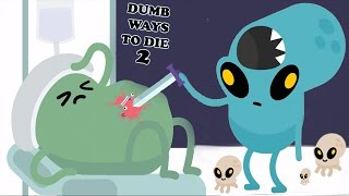 Dumb WAYs To Die 2 - New Space Alien👽 | AREA FIFTYDUMB All Funny Ways TO Die