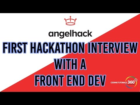 First Hackathon Interview with A Front End Dev: Angelhack Los Angeles 2016