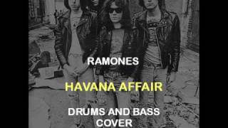 Ramones - Havana Affair (Drums And Bass Backing Track Cover)
