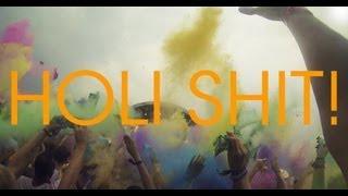 HOLI FESTIVAL OF COLOURS 2013 KÖLN - First Person Shoot