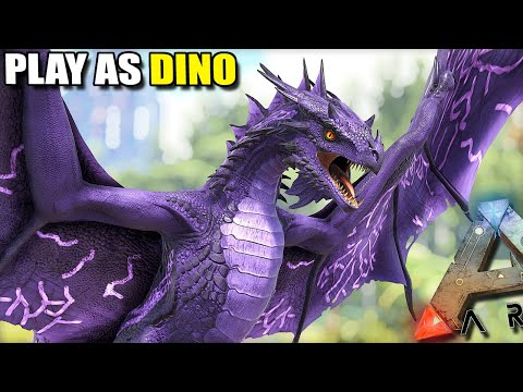 THE FOREST WYVERN UPDATE | PLAY AS DINO | ARK SURVIVAL EVOLVED