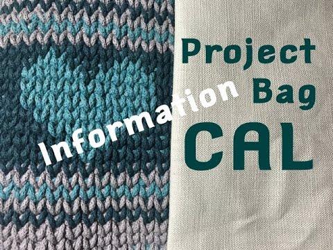 Ophelia Talks CROCHET CAL 2020 INFORMATION Project Bag