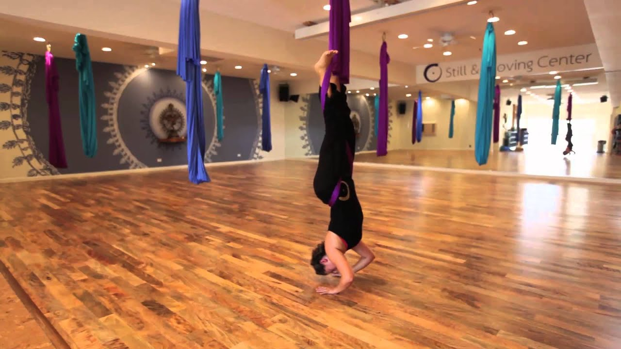Aerial Yoga for Beginners: Benefits and Tips forecast