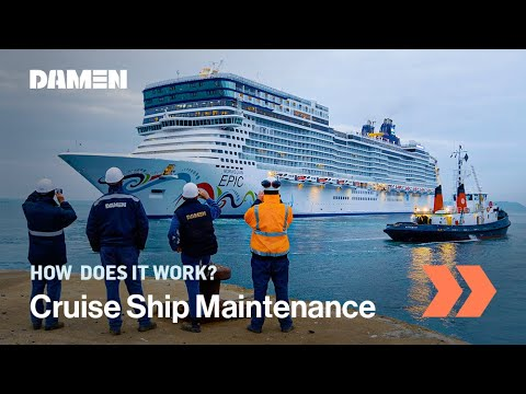 Refit & maintenance of Norwegian Epic cruise ship