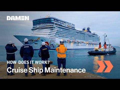 Refit & Maintenance Of Norwegian Epic Cruise Ship