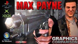 MAX PAYNE | Graphics Comparison | ( PS2 , Xbox , PC )