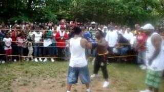 Eastside Backyard Brawl Chi-co vs. Shony Boi ROUND 1