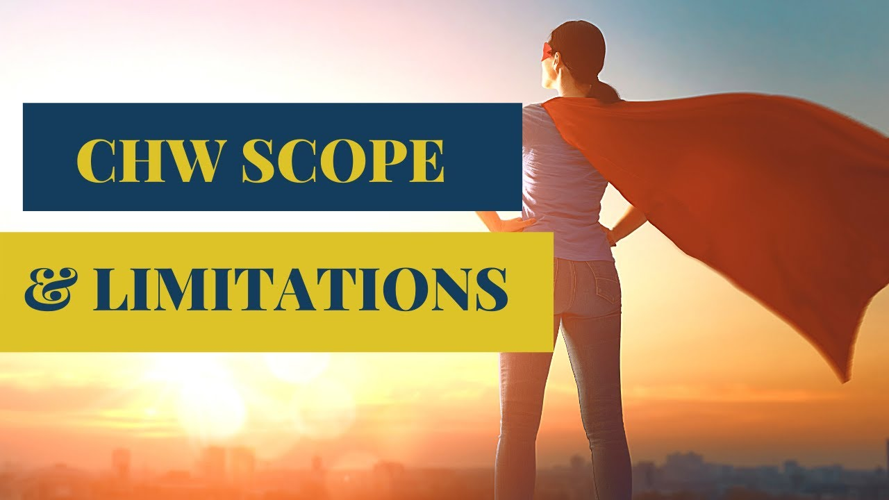 CHW Scope of Practice Limitations