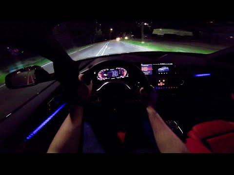 2020 BMW 1 Series M135i XDrive | NIGHT DRIVE POV By AutoTopNL