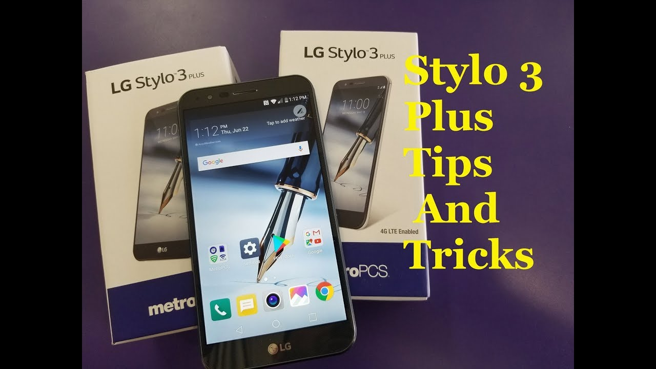 LG Stylo 3 Plus 10 Hidden features You May Don't know
