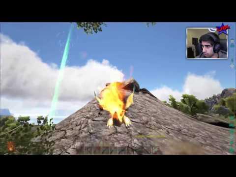 ROCK GOLEM vs TYRANTRUM! - ARK SURVIVAL EVOLVED POKEMON MOD #30