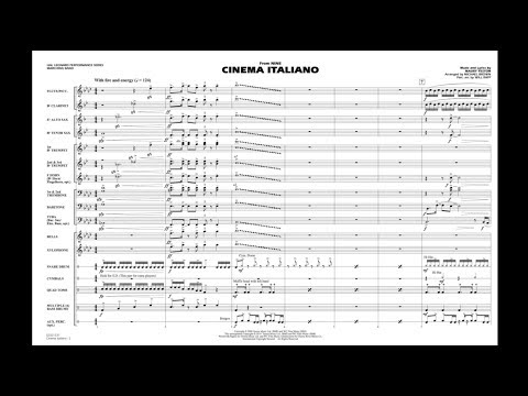 Cinema Italiano by Maury Yeston/arr. Michael Brown