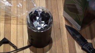 �������� ���� Посылка с Aliexpress.Светодиодная диско лампа. ������