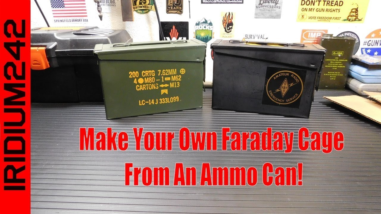 What is a Faraday Cage and Why Should I Care? - SHTF DAD