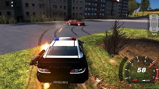 Crashday - Police Car Destruction Ruleless Game