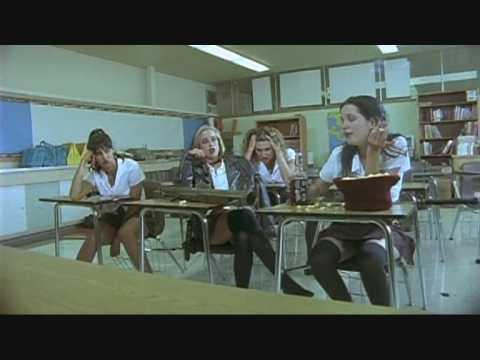 Girl Farts In The Movie Ninja Cheerleaders