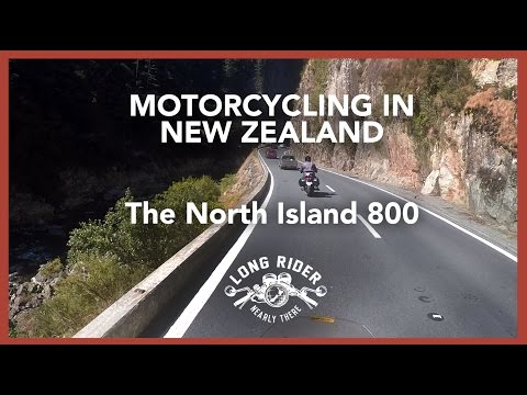 Motorcycling in New Zealand - North Island 800