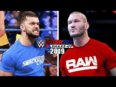 WWE Superstar Shake-Up 2019 Rumours & Predictions (WWE Draft 2019  - Raw, Smackdown Live, NXT)