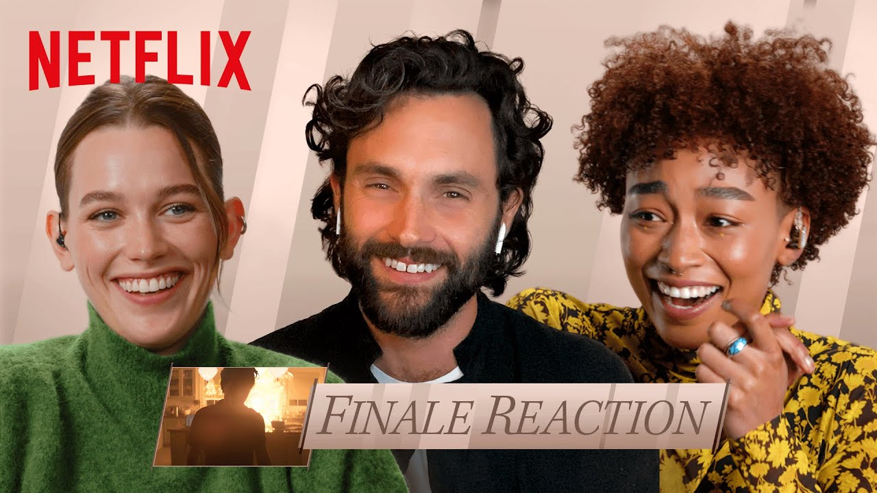 Download YOU S3 Cast Break Down the Season's Final Episode | Finale Thoughts | Netflix