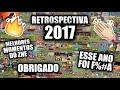 RETROSPECTIVA 2017 l MELHORES MOMENTOS DO ZNE l ESSE ANO FOI F%#A | OBRIGADO A TODOS | #REWINDBR