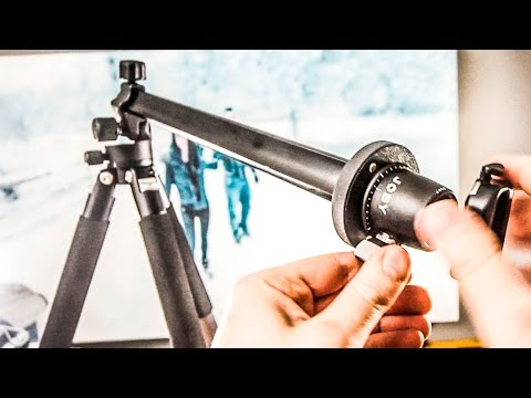 Improved: Easy top-view tripod setup for tabletop youtube videos