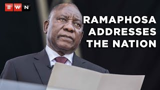 Following the violent looting and riots that gripped parts of Gauteng and KwaZulu-Natal, President Cyril Ramaphosa addressed the nation on 16 July 2021.