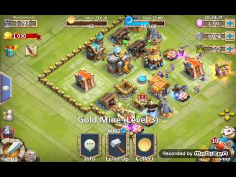 Castle Clash Buying Heroes With Gems!